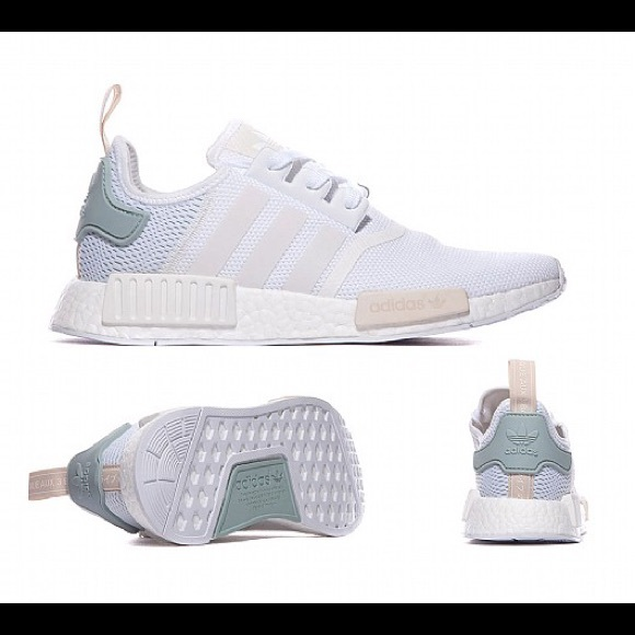 adidas Shoes | Adidas Nmd White Mint